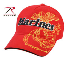 Marines Red Baseball Cap