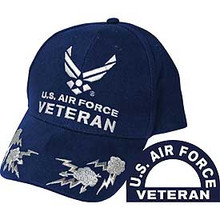 U.S. Air Force Logo Veteran Baseball Cap