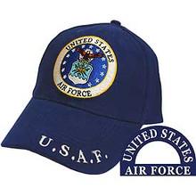 U.S.A.F. Emblem Baseball Cap