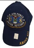 U.S.A.F. Never Retired Baseball Cap