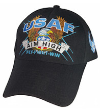 U.S.A.F. Aim High Baseball Cap
