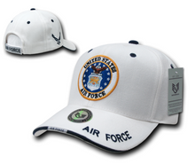 U.S. Air Force Logo White Baseball Cap