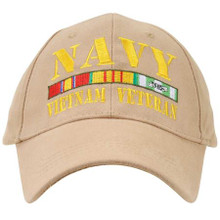 US Navy Vietnam Veteran Baseball Cap