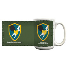 U.S. Army Security Agency Coffee Mug