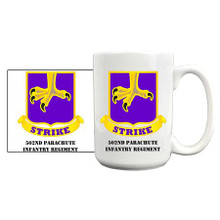 502nd Parachute Infantry Regiment Coffee Mug