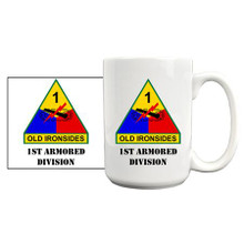 1st Armored Division Coffee Mug