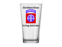 82nd Airborne Division Pint Glass