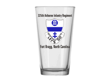 325th Airborne Infantry Regiment Pint Glass