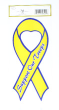 "Support Our Troops Ribbon 9 5/8 "" X 4 1/2"
