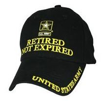 ARMY Retired Not Expired CAP