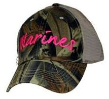 US Marines Ladies Baseball Cap