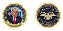 Trump 45th President Challenge Coin