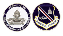 AIR FORCE DISTRICT OF WASHINGTON Challenge Coin