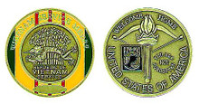 Vietnam Service Medal Challenge Coin