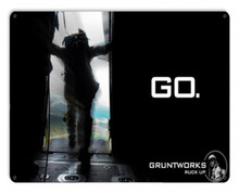 Go! Metal Wall Sign (12X15)