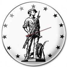 Minuteman 2 Clock (14X14)