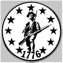 Minuteman 3 Clock (14X14)