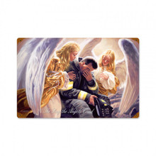 DAY THE ANGELS CRIED Metal Wall Sign (18X12)