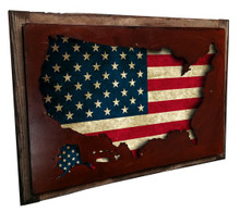 3-D USA MAP DISPLAY (24X16)