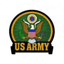 ARMY Metal Wall Sign (15X16)