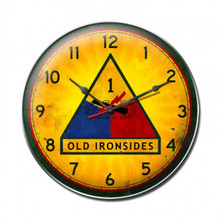 OLD IRONSIDES Clock (14X14)