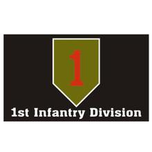 1st Infantry Division 3X5 Flag