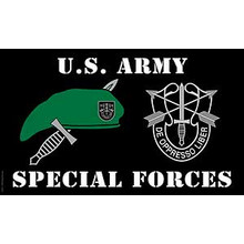Special Forces 3X5 Flag