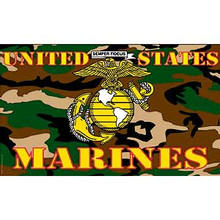 USMC Camo 3X5 Flag
