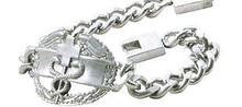 Combat Medic Badge Bracelet