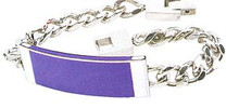 Purple Heart Ribbon Bracelet