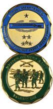 Combat Infantryman Challenge Coin