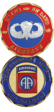 82nd Airborne All American Challenge Coin