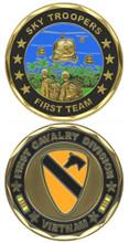 1st Cavalry Division Vietnam Challenge Coin
