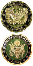 US Army Warrant Officer Challenge Coin