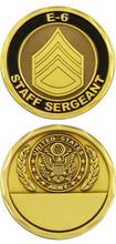 US Army Staff Sergeant Challenge Coin