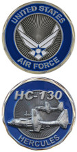 US Air Force HC-130 Challenge Coin