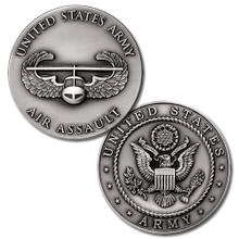 US Army Air Assault Badge Challenge Coin