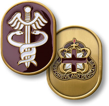 U.S. Army Medical Command Challenge Coin