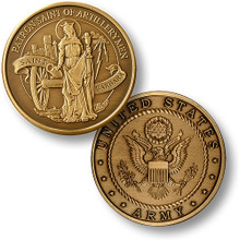 Saint Barbara Bronze Challenge Coin
