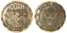 "U.S. Army Hooah ""It's An Army Thing"" Challenge Coin"