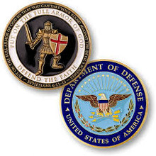 Armor of God - Department Of Defense Challenge Coin