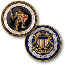 Armor of God - Joint Chiefs Challenge Coin