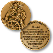 The Lord of the Seas Challenge Coin
