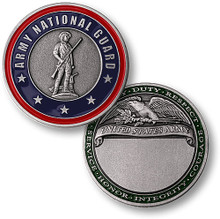 Army National Guard Nickel Challenge Coin