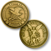 NRA Seal - St. Michael Challenge Coin