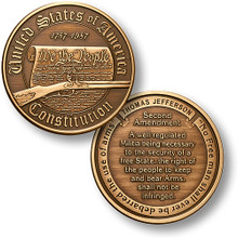 Constitution - Second Amendment Challenge Coin