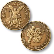 Saint Michael - SWAT 2 Challenge Coin