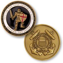 Armor of God - Coast Guard Challenge Coin