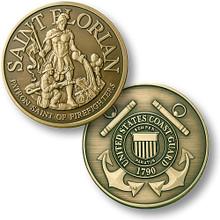 Saint Florian - USCG Challenge Coin
