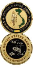 U.S. Army Vietnam Veteran Challenge Coin